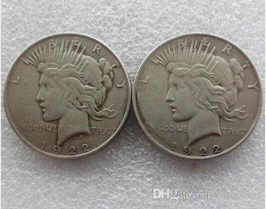 Hohe qualität Batman Dark Knight Harveys 1922 Frieden Dollar Zwei Gesicht Münze Co Förderung Billig Neupreis schönes zuhause Zubehör Silber Münzen