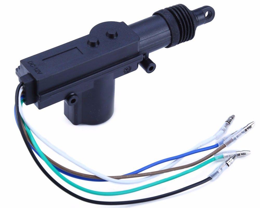 4pcs Universal 360 Degree Rotation Car Auto Remote Central Alarm Security Kit 4 Door Bracket Locking Keyless Entry System