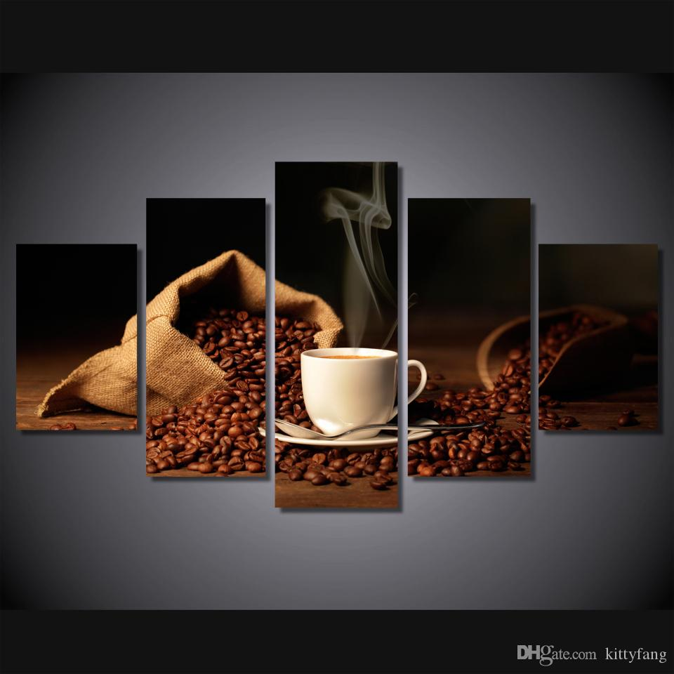 Art print POSTER CANVAS Coffee Bean