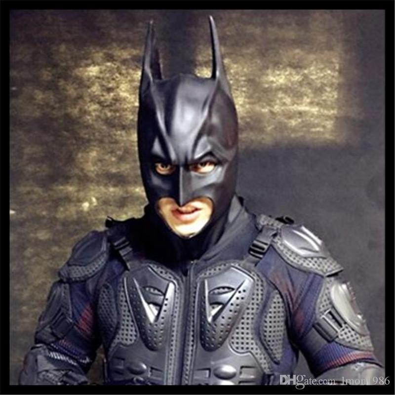 Top Grade Movie Batman Mask Scary Halloween Costume Theater Prop Novelty Latex Rubber Full Face Mask Theater Prop Party Cosplay Toy In Stock