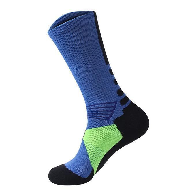 Professional sports socks Thickening towel bottom long cylinder basketball socks men and women outdoor sports socks free shipping