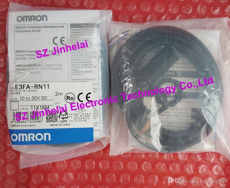 جديدة ومبتكرة E3FA-RN11 OMRON الاستشعار الكهروضوئية ، التبديل الكهروضوئي 10-30VDC 2M