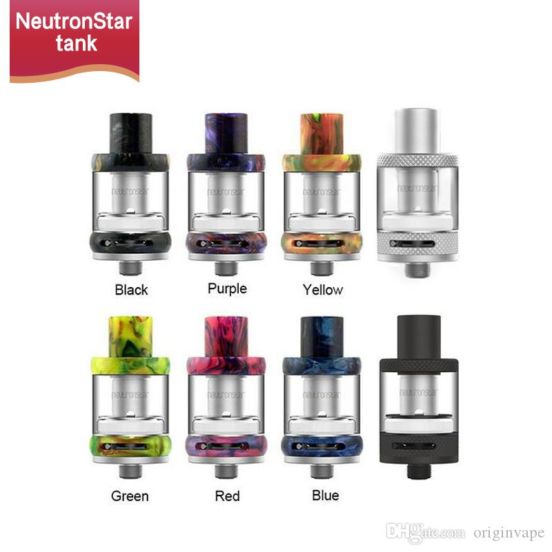 100% Authentic Freemax NeutronStar Sub Ohm Atomizer Resin Design 2ml Vape Tank 8 Colors Dual Coil Max 55W