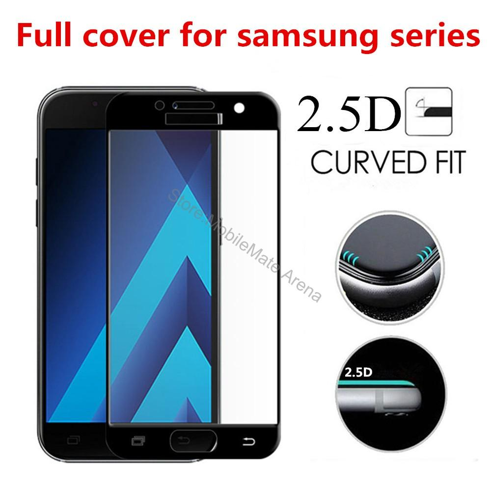 Full-Screen-Tempered-Glass-For-Samsung-A5-2017-A520F-Screen-Protector-Film-2-5D-Edge-Curved(1)