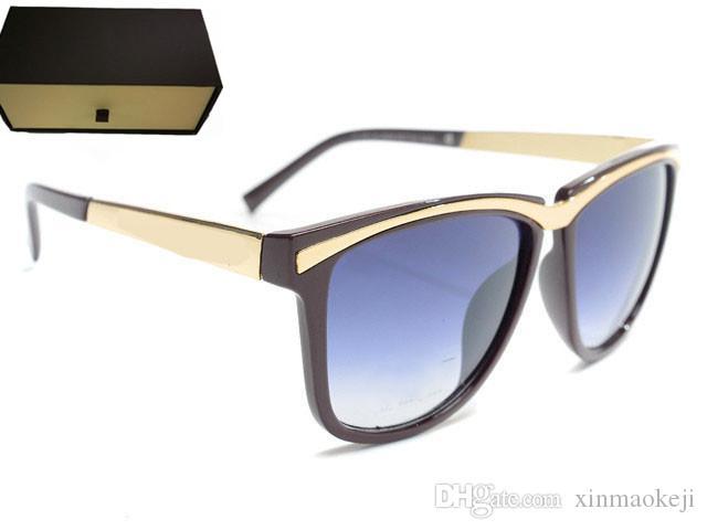 Heißer Verkauf Sonnenbrille für Frauen Womens Fashion Sonnenbrille UV 400 Trendy Sonnenbrille Damen Vintage Sunglases Fashion Designer Sonnenbrillen