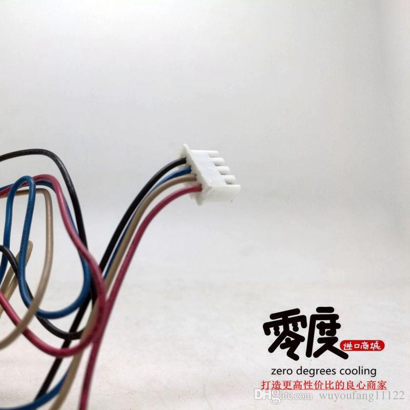 Original Delta 8025 8CM 12V 0.80A FFB0812EH Switch Server Cooling Fan