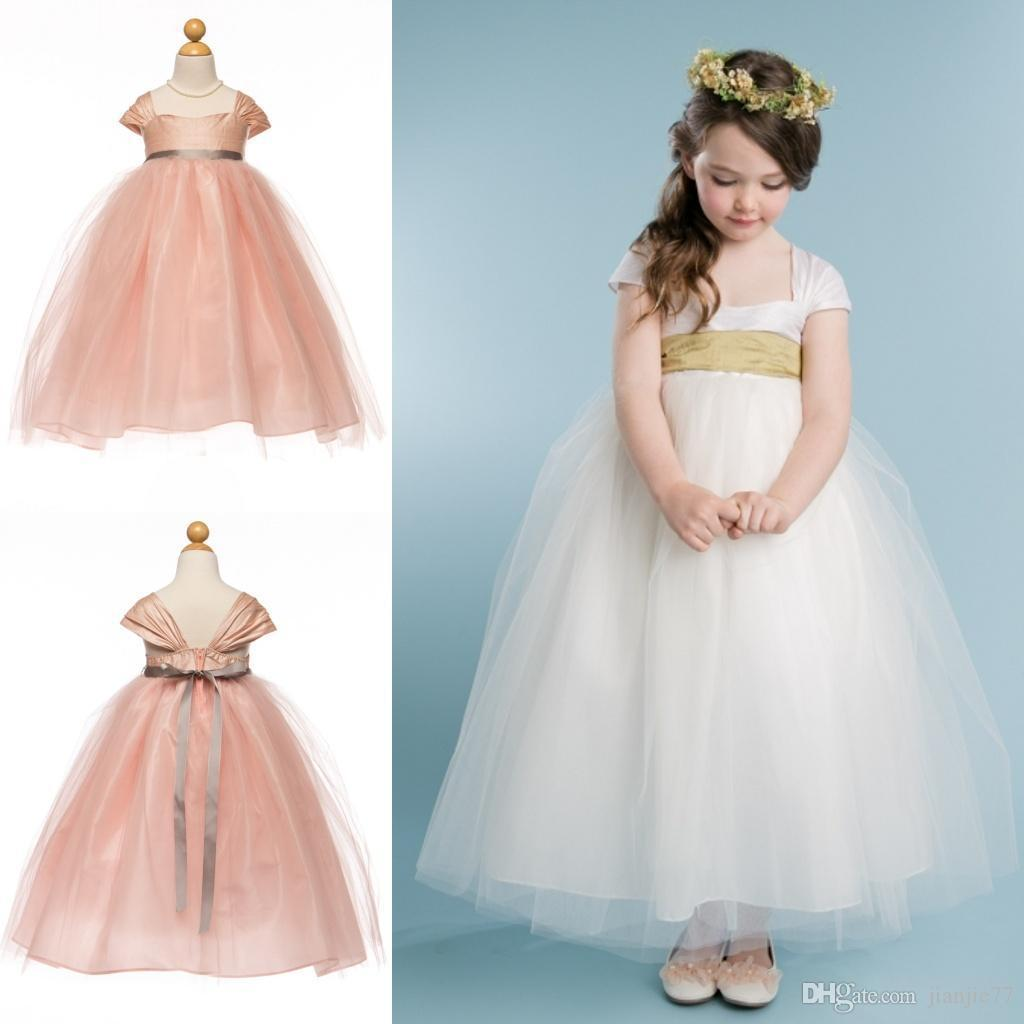 Cute Ball Gowns Princess Flower Girls Pageant Dresses for Boho ...