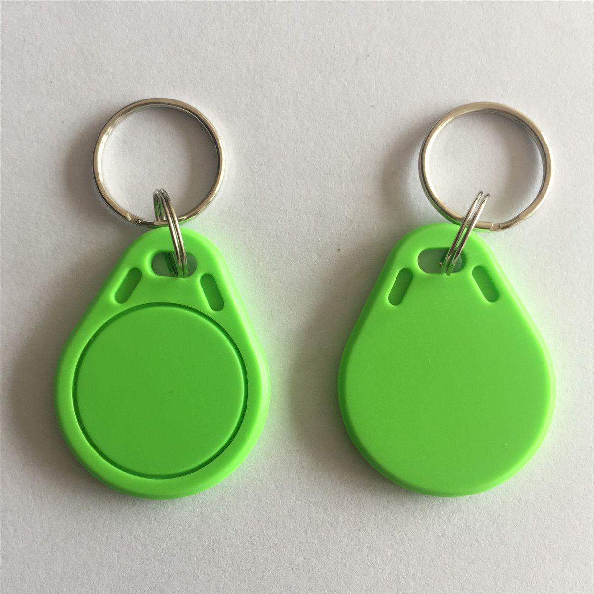 MIFARE Classic® 1K Çip Yeşil Renk Anahtarlık-100 adet / grup