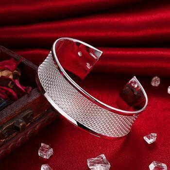 Оптовая торговля-розничная низкая цена Рождественский подарок, бесплатная доставка, новый 925 серебряный браслет моды B048