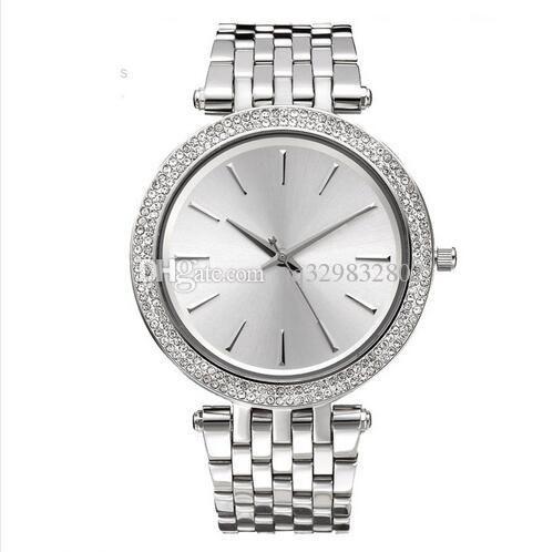 2020 reloj mujer New Ladies marca de luxo estilista relógios mulher cheia relógio de diamantes pulseira de mulheres de prata relógio de pulso Rhinestone