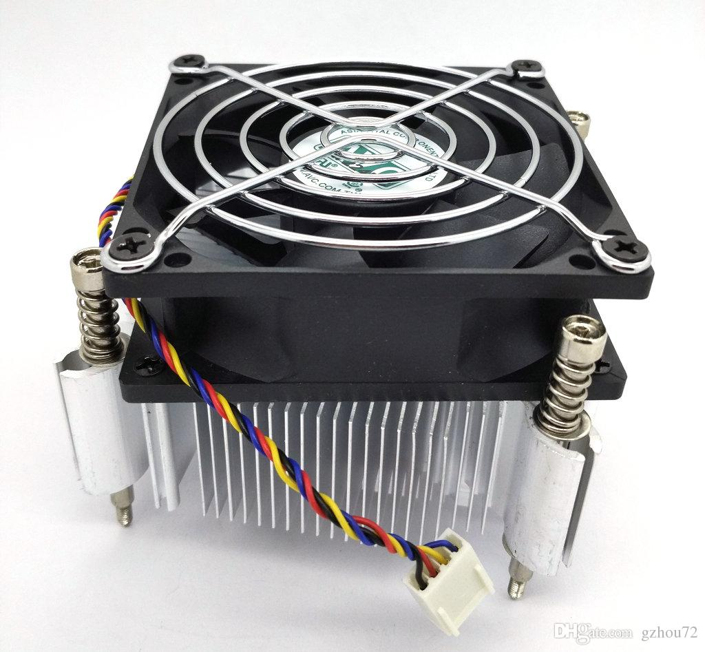 New Original AVC for Lenovo TD340 server original CPU cooler fan support E5 1356 XEON 1366