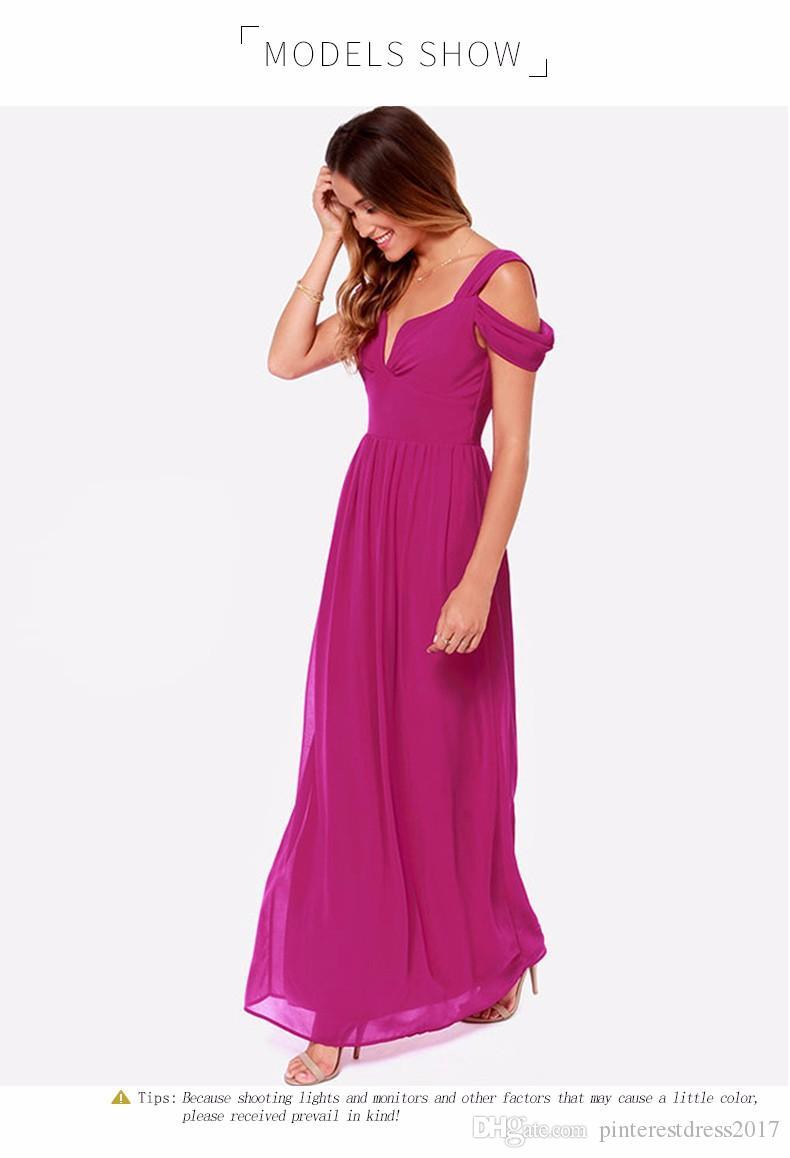 Compre Vestidos De Noche Negro Elegante Vestido Formal Largo Ep09016 ...