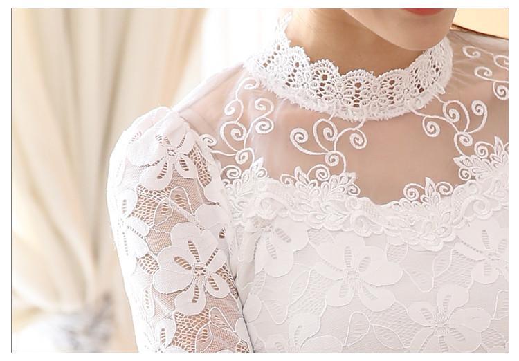 lace blouse 534