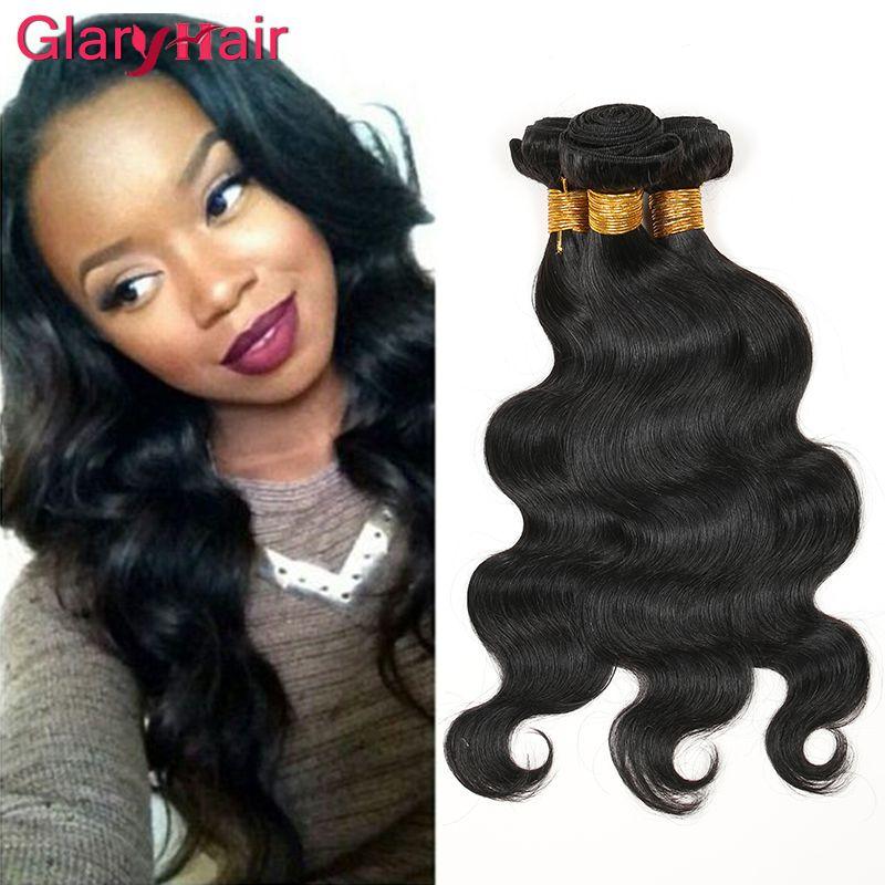 Peruvian 1B Body Wave Weave Unprocessed Peruvian Virgin Hair Bundle Deals Wet wavy Human Hair Extensions 4 pieces Free Shipping
