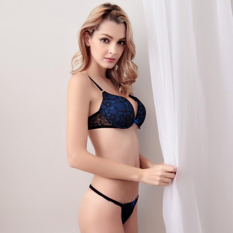 2017 Women Sexy Bra Plus Size Embroidered Lace Bra Sets ...