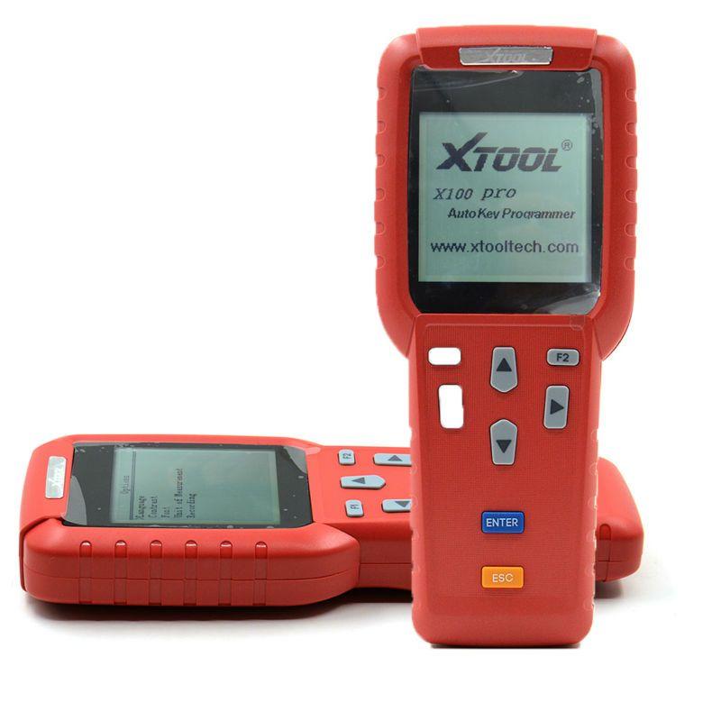 Original Xtool X100 PRO 자동 키 프로그래머 X100 + 업데이트 버전 X 100 프로그래머 X-100 + 키 프로그래머 업데이트 온라인