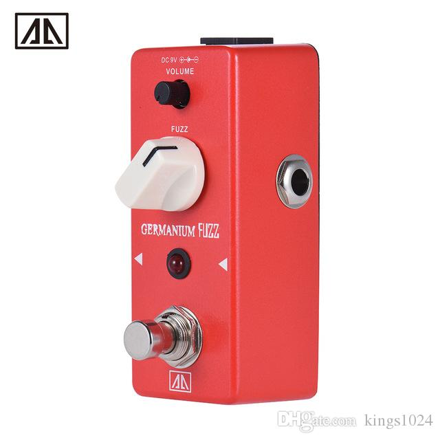 AROMA AGF-5 Classic Germanium Transistor Fuzz Guitar Effect Pedal Aluminum Alloy Body True Bypass Guitar Parts & Accessories