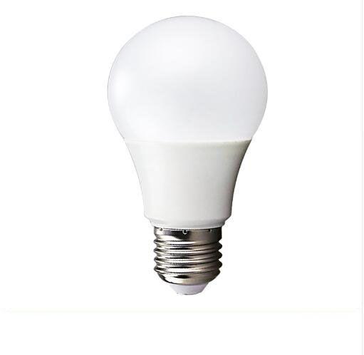 Lâmpada LED E27 Luz plástico tampa de alumínio de 270 graus Globe Light Bulb 3W / 5W / 7W / 9W / 12W branco quente / frio Branco