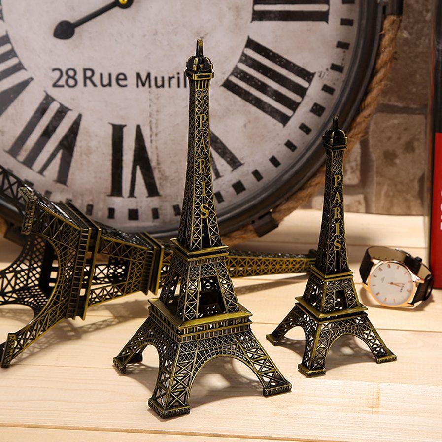 Metal Souvenir Travel Model Eiffel Tower Tour Eiffel Paris France 62 cm