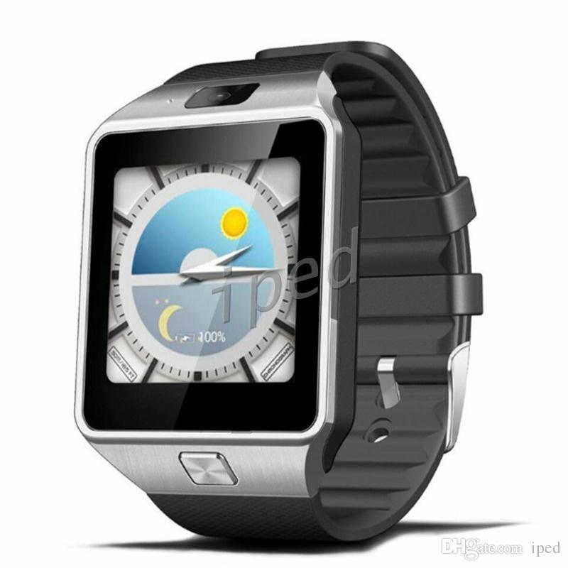 QW09 Smart Watch Android Wifi 3G Smart Wacht Bluetooth orologio da polso MTK6572 Dual Core 512 MB / 4 GB Contapassi Smartwatch Phone DZ09 Più economico 30 pz
