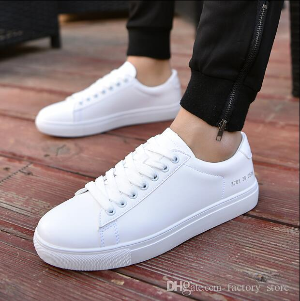 white casual sneakers