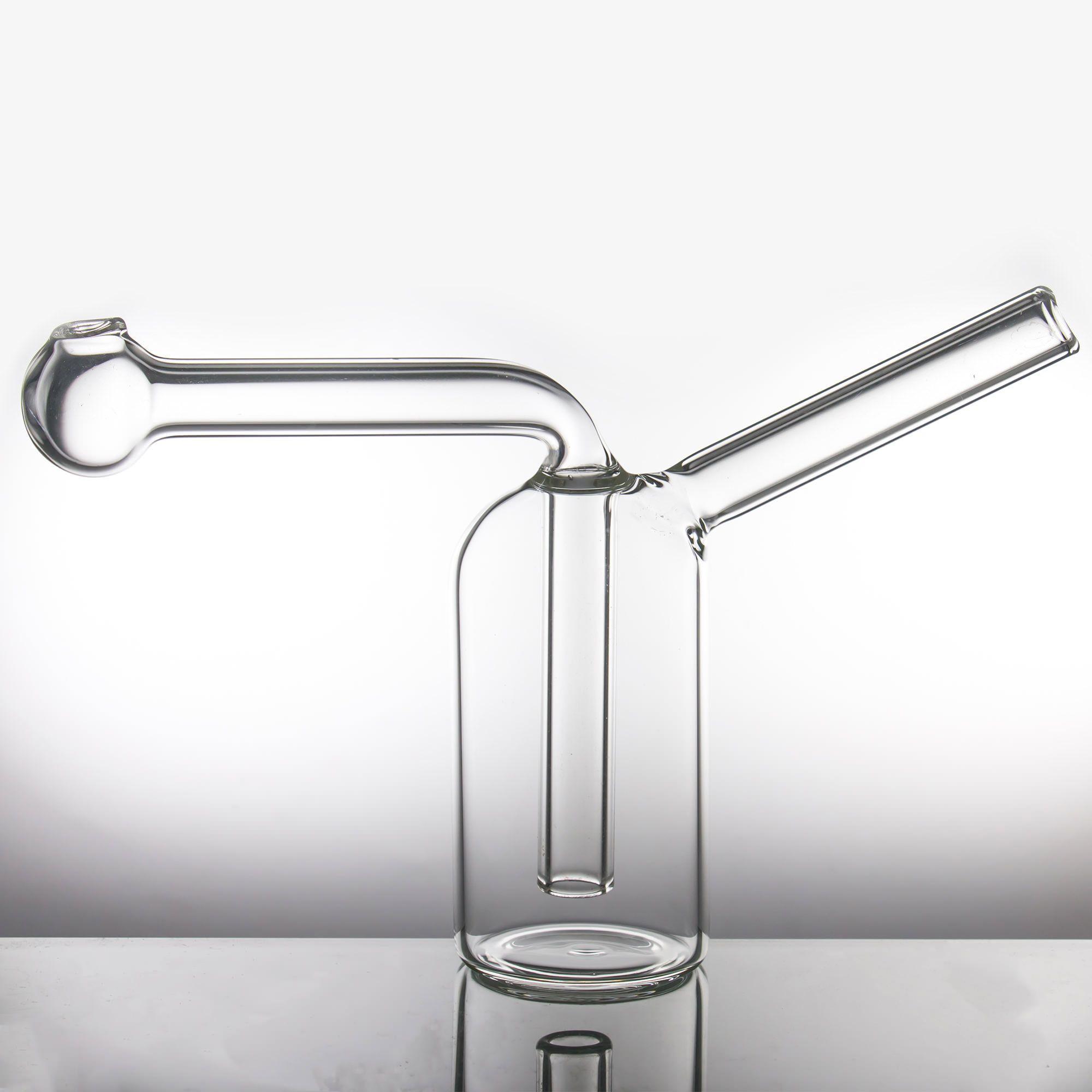 Hookahs queimador de óleo Pyrex Tubulação de água grossa tubos de vidro Bubbler mini bong para acessórios para fumar