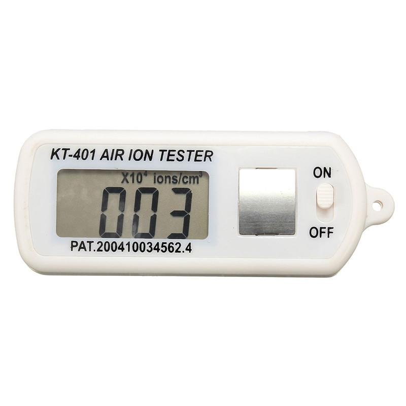 Freeshipping new Best Quality Air Ion Tester Meter Counter -Ve Negative Ions With For Peak Maximum Hold New
