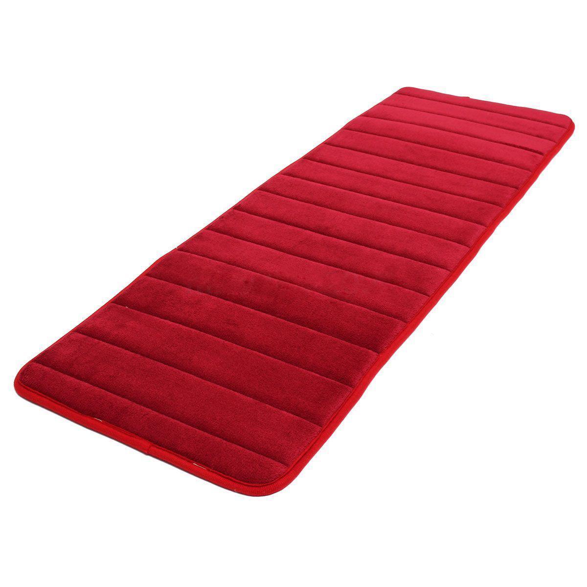 2019 Wholesale CNIM Hot 120x40cm Absorbent Nonslip Memory Foam Kitchen  Bedroom Door Floor Mat Rug Carpet Date Red From Douglass, $15.25 |  DHgate.Com