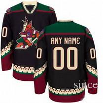 2016 New Mens Arizona Coyotes CCM Black Classic old style Jersey custom any name and numbers 100% Stitched Hot sale Cheap Ice Hockey Jerseys