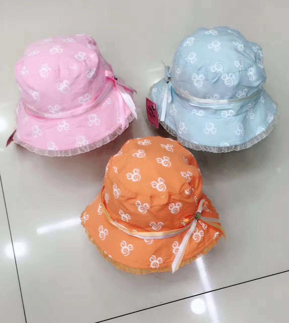 Mieszane Design Niemowlę Dziewczynka Sunhat Hat Cap Sun Hat 30pcs / Lot New