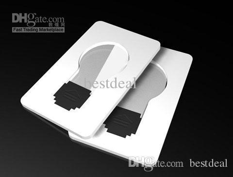 Mini luce di carta di credito a led, lampada tascabile portatile, lampadina di carta di credito