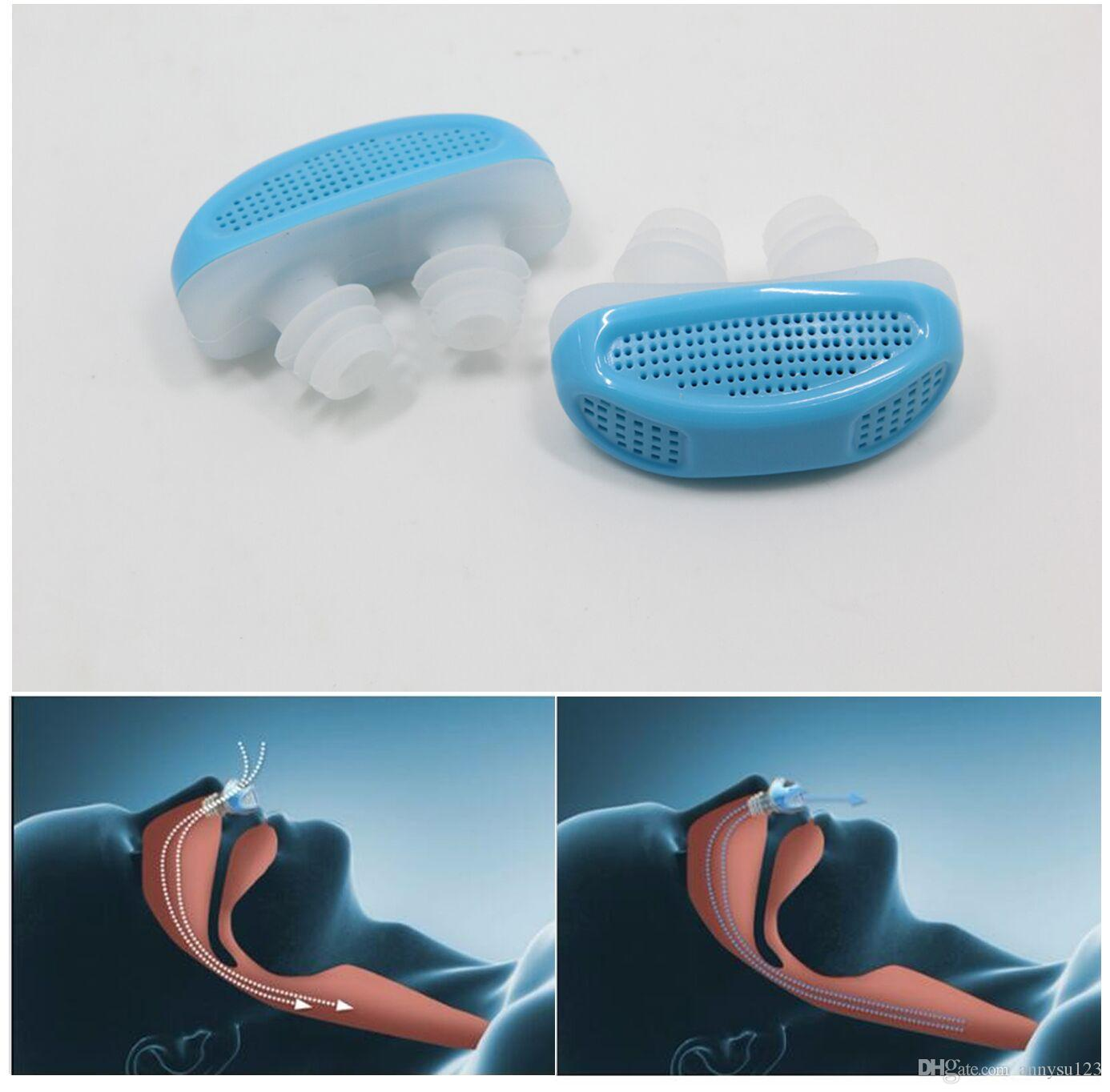 3 colors Nose Breathing Apparatus Stop Grinding Relieve Snoring Nose Clips Air Purifier Health Care Sleeping Aids