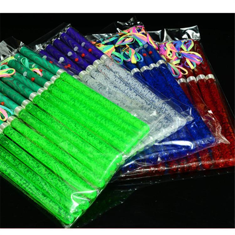 Les accessoires acryliques de concert de bâton de lumière de LED acrylique avec le marché de vente directe d'approvisionnement de stalle de bâton de flash