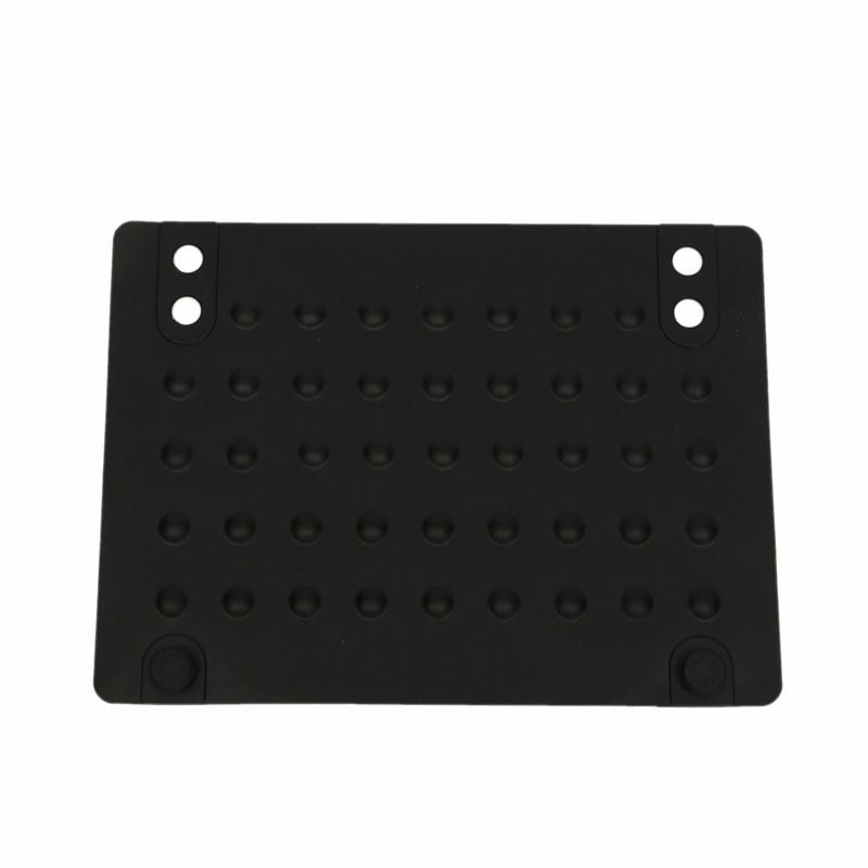 Wholesale- Silicone Heat Resistant Mat Anti-heat Mats for Hair Straightener Curling Iron (black) 215*165cm