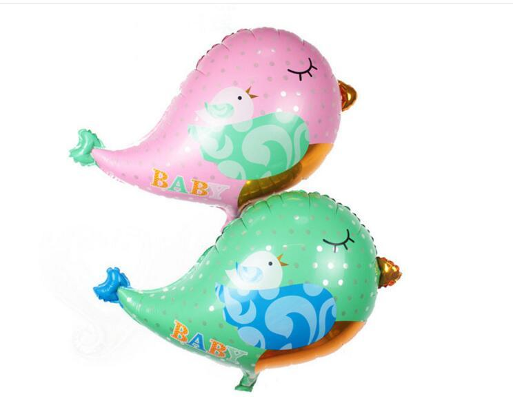 Eco-Friendly Lovely Color Bird Foil Balloons Festive Christmas Party Decoration Wedding Gift Favors Cute Balloon Children Gift Toys