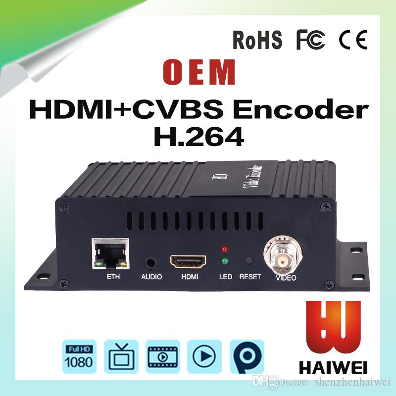 H3110A IPTV 하드웨어 비디오 인코더 HDMI CVBS (AV) SDI, 1080P IPTV H.265H.264 HD 라이브 스트림 브로드 캐스트 인코더
