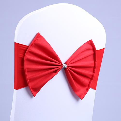 Fantastic Spandex Lycra Chair Sashes Elastic Satin Chair Bands With Buckle For Wedding Chair Cover Sashes Bows Dining Chairs Slipcovers Small Chair Slipcovers Lamtechconsult Wood Chair Design Ideas Lamtechconsultcom