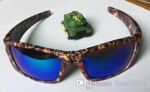 10pcs newest SUMMER MEN sports glass Camouflage glasses Camouflage protective glasses women fashion Outdoor sports cycling glasses DROP ship