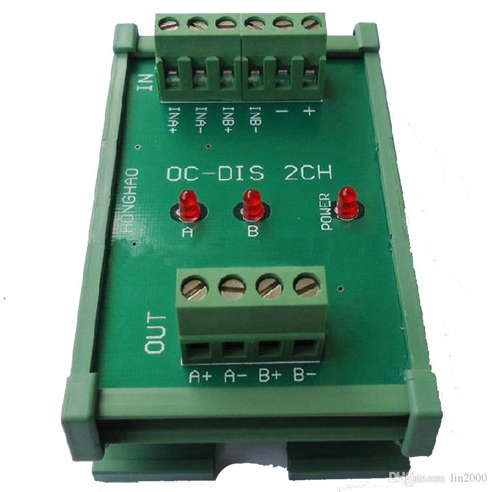 Açık Kollektör TTL'nin Farksal HTL sinyaline 2 Yollu 2MHz Evrensel Dönüştürücü