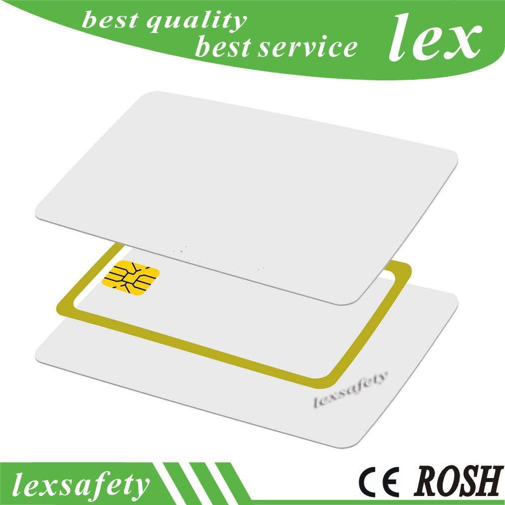 100pcs / lot 125KHz TK4100 / EM 4100 compatible carte d'identité RF vierge Carte mince en PVC Rfid blanc