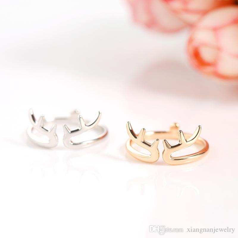 Großhandel Beliebte Chirsm Ringe Band Ring S925 Silber Rose Gold ...
