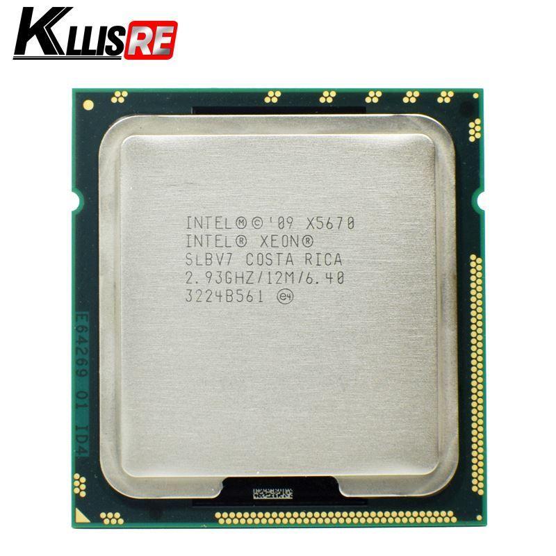 Processeur Intel Xeon X5670 Processeur 2,93 GHz LGA1366 12 Mo L3 Cache Six Core