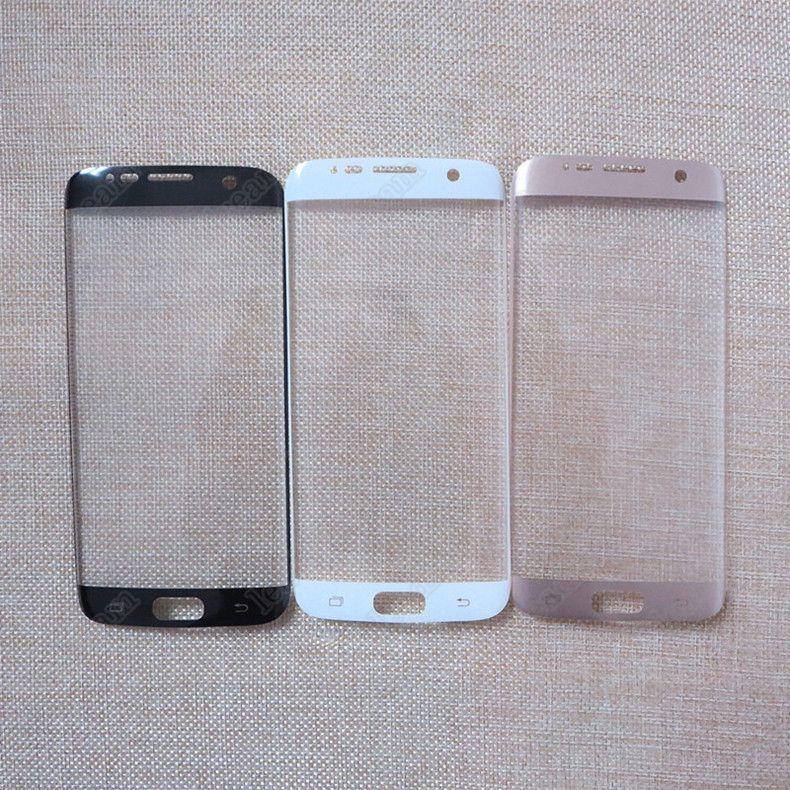 300PCS 3D Couverture Complète Surface Incurvée PET Protecteur D'écran Garde Douce Film pour Samsung Galaxy S7 S6 Bord G9250 Non Trempé En Verre Aucun Paquet