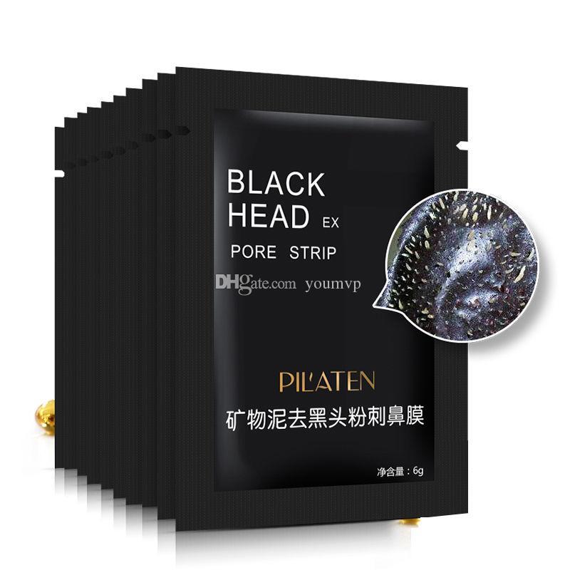 ピラテンフェイシャルミネラルコンクノーズブラックヘッドリムーバーマスクポアクリーンサーノーズブラックヘッドクリーナー6G / PC