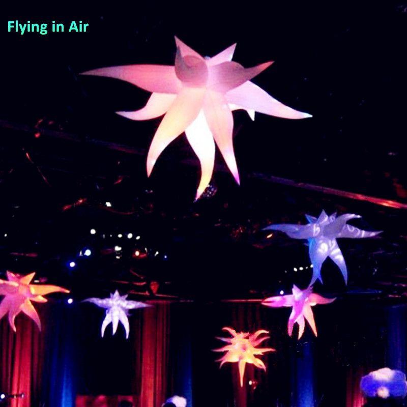 2m 파티 / 바 / 클럽 / 패션 라이트 Curving 풍선 스타와 LED 라이트