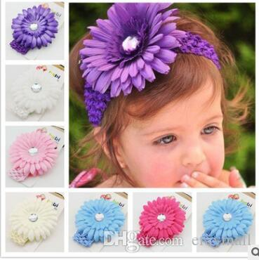 The head ornaments sun flower heads with euramerican popularity flowers Daisy even knitting with the baby