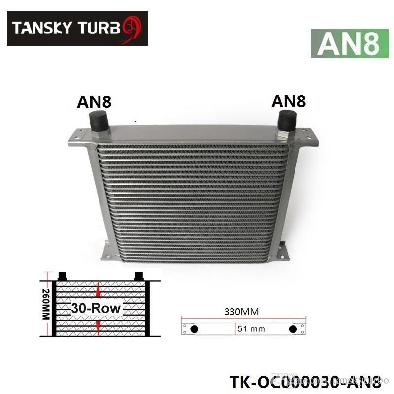 Tansky - 30-radmotor / transmission 10an oljekylare för universell utan logotyp har i lager TK-OC000030