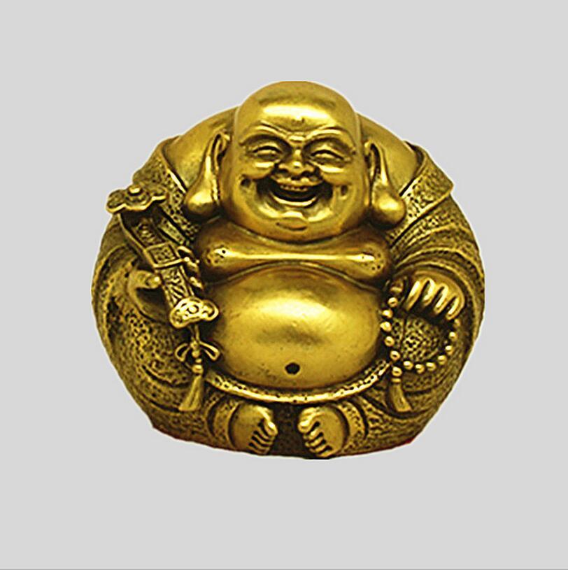 SUIRONG --- 2017 704 + + + Maitreya de cuivre Bouddha ornements harmonie