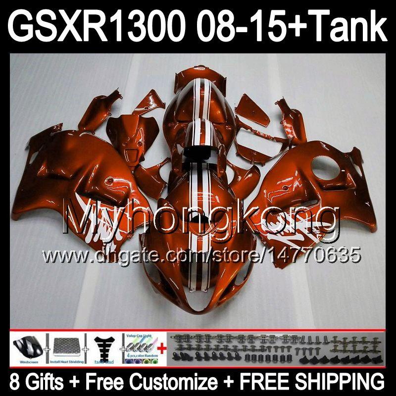 8gifts для Suzuki GSXR1300 Хаябуса 2008 2009 2010 2011 14MY200 глянец оранжевый GSXR-1300 1300 GSXR системы GSX Р1300 2012 2013 2014 2015 Топ обтекатель