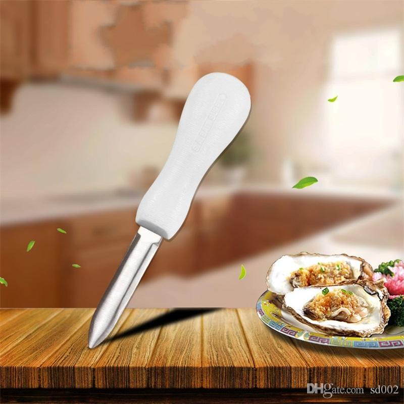Coltello per ostriche in acciaio inossidabile Multi Function Attrezzo per aprire la conchiglia antiscivolo Articoli per la cucina di casa 3 1tl C R